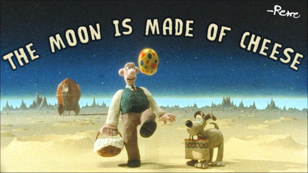 The Moon Is Made Of Cheese II Cheese Harder