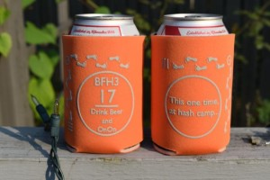 Hash Camp Koozie